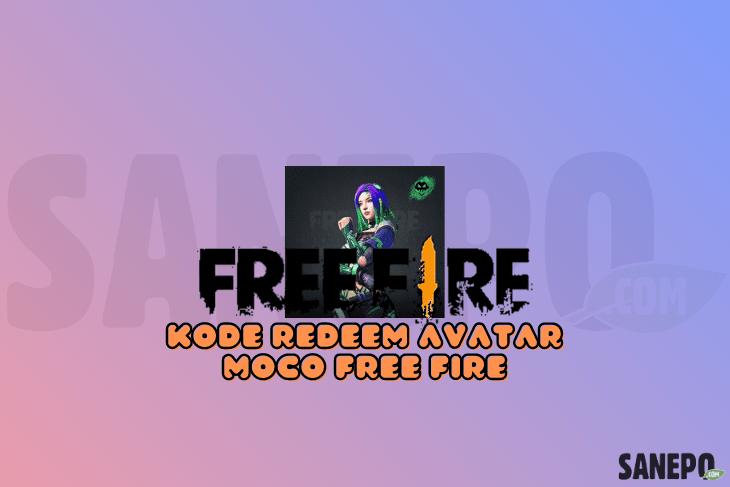 Kode Redeem Avatar Moco FF