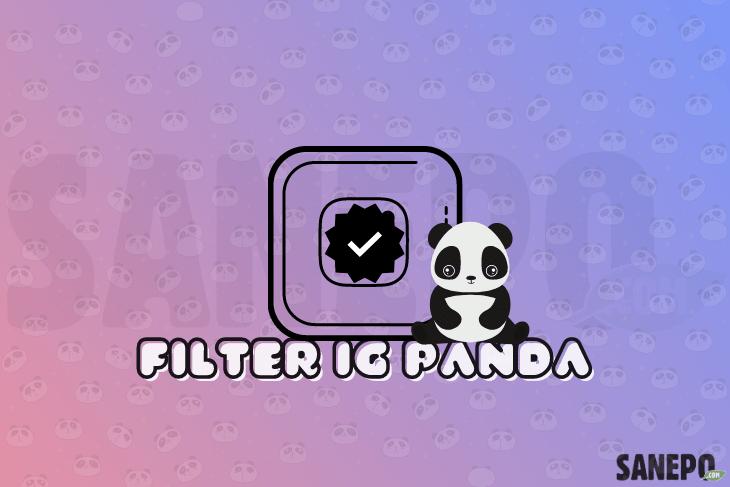 Filter IG Panda