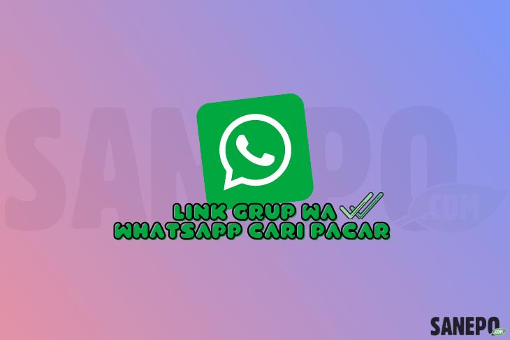 Link Grup WA WhatsApp Cari Pacar