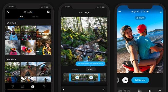 Quik aplikasi editor video iphone