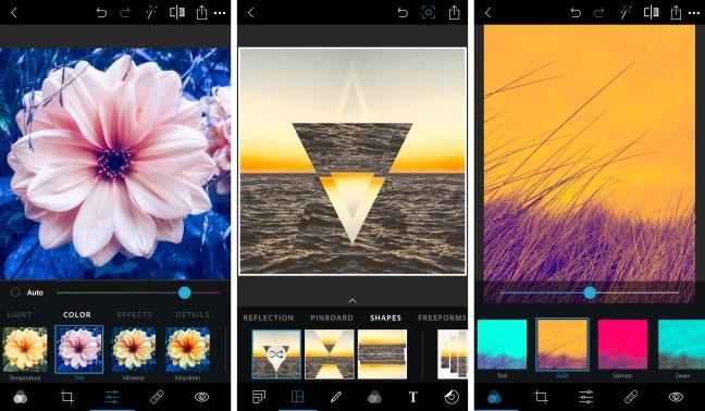 Adobe photoshop express aplikasi editan foto selebgram