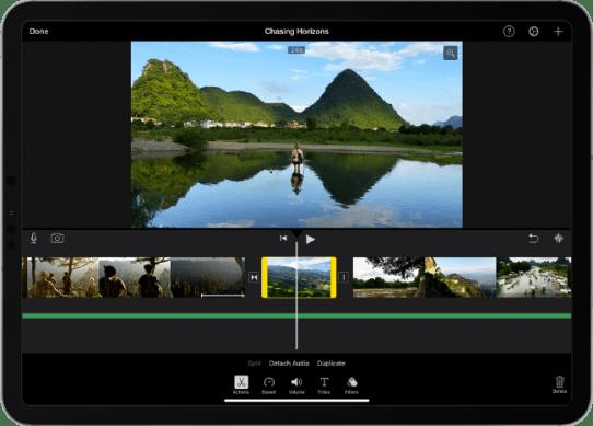 iMovie aplikasi editor video iphone