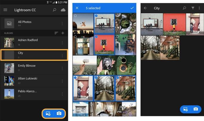Lightroom Apk aplikasi editan foto selebgram