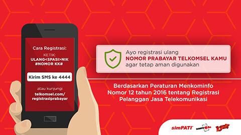 Caranya Registrasi Kartu Telkomsel