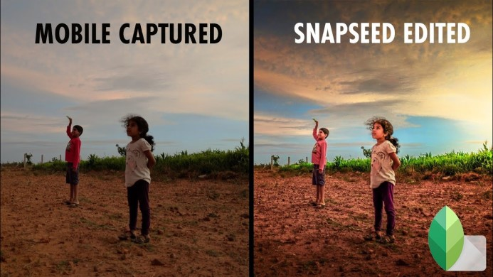 Snapseed aplikasi editan foto selebgram