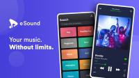 Aplikasi Pemutar Musik Online eSound