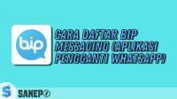 Cara Daftar BiP Messaging (Aplikasi Pengganti WhatsApp)