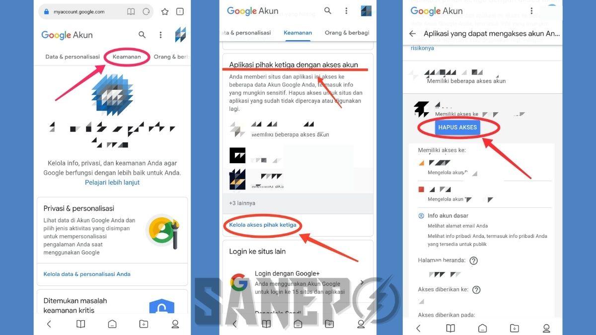 Cara Menghapus Akun yang Terhubung dengan Gmail Via Smartphone