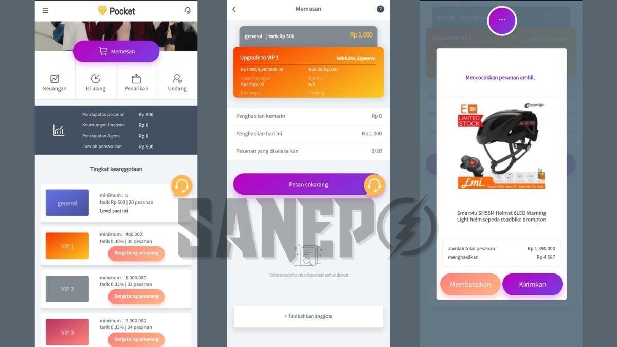 Pocket APK: Aplikasi Penghasil Uang Mirip Toko Kaya 2021