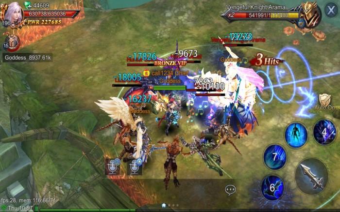 Game Online Perang Goddess: Primal Chaos