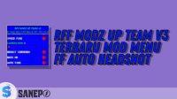 RFF Modz UP Team V3 Terbaru Mod Menu FF Auto Headshot
