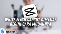 White Flash Capcut Dimana? Begini Cara Mudahnya