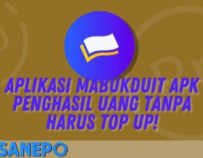 Aplikasi MabukDuit Apk Penghasil Uang Tanpa Harus Top Up!