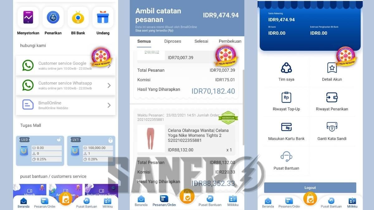 Cara Daftar dan Download Aplikasi BMALL Online Apk