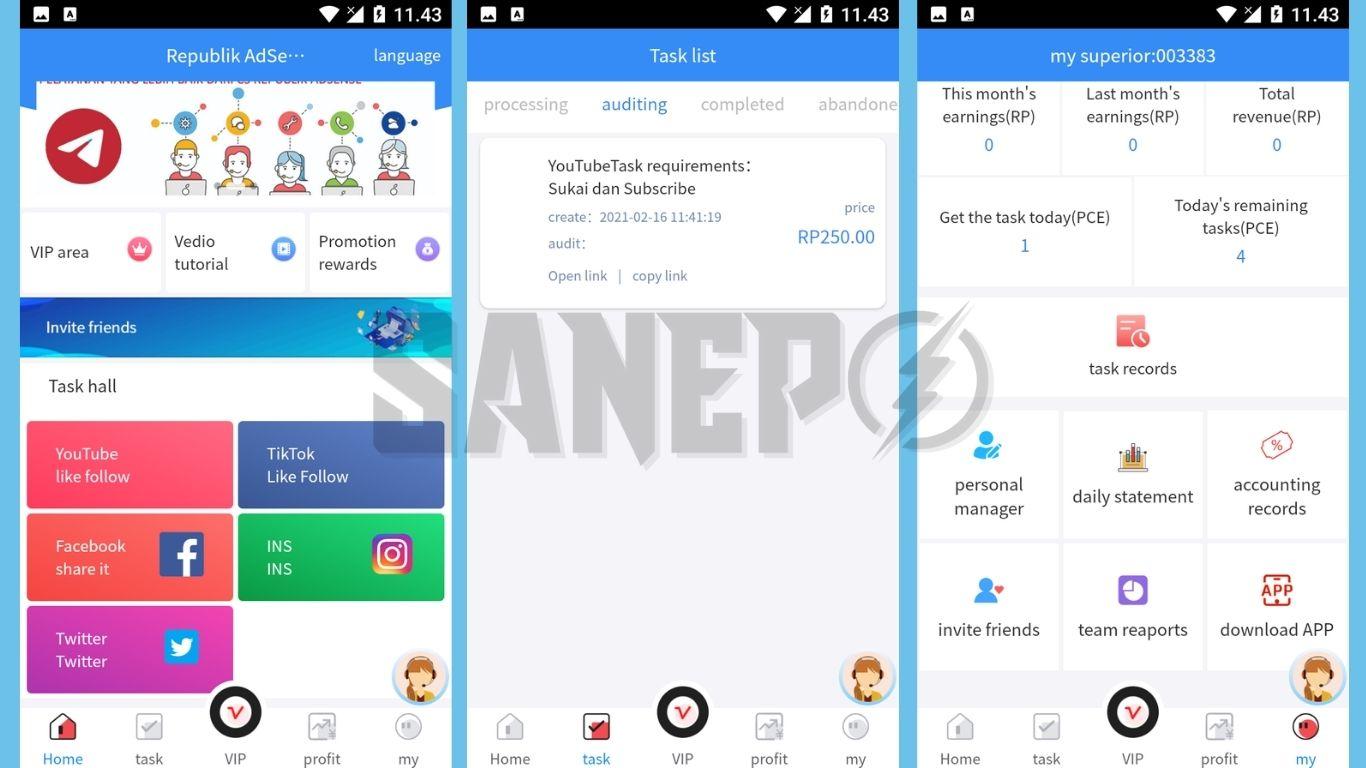 Cara Daftar dan Download Aplikasi Republik Ads APK