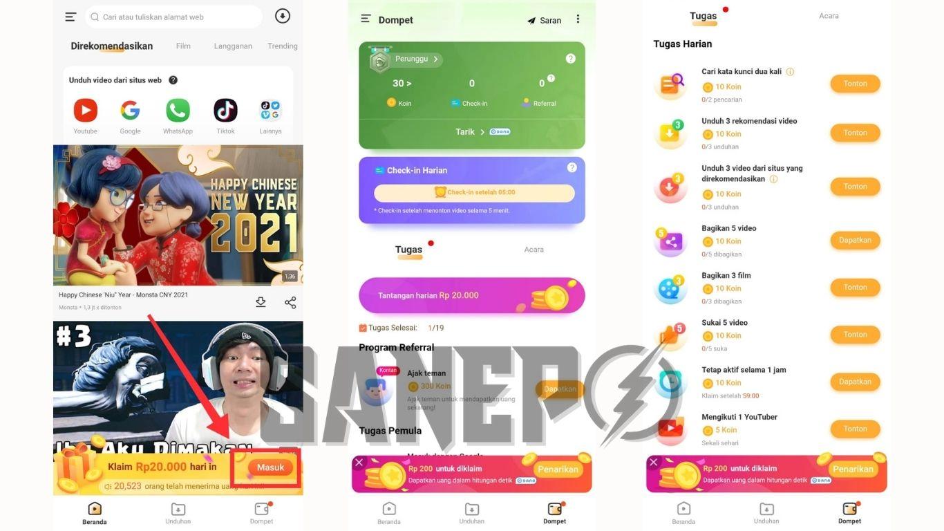 Cara Daftar dan Download Aplikasi Vidnow APK