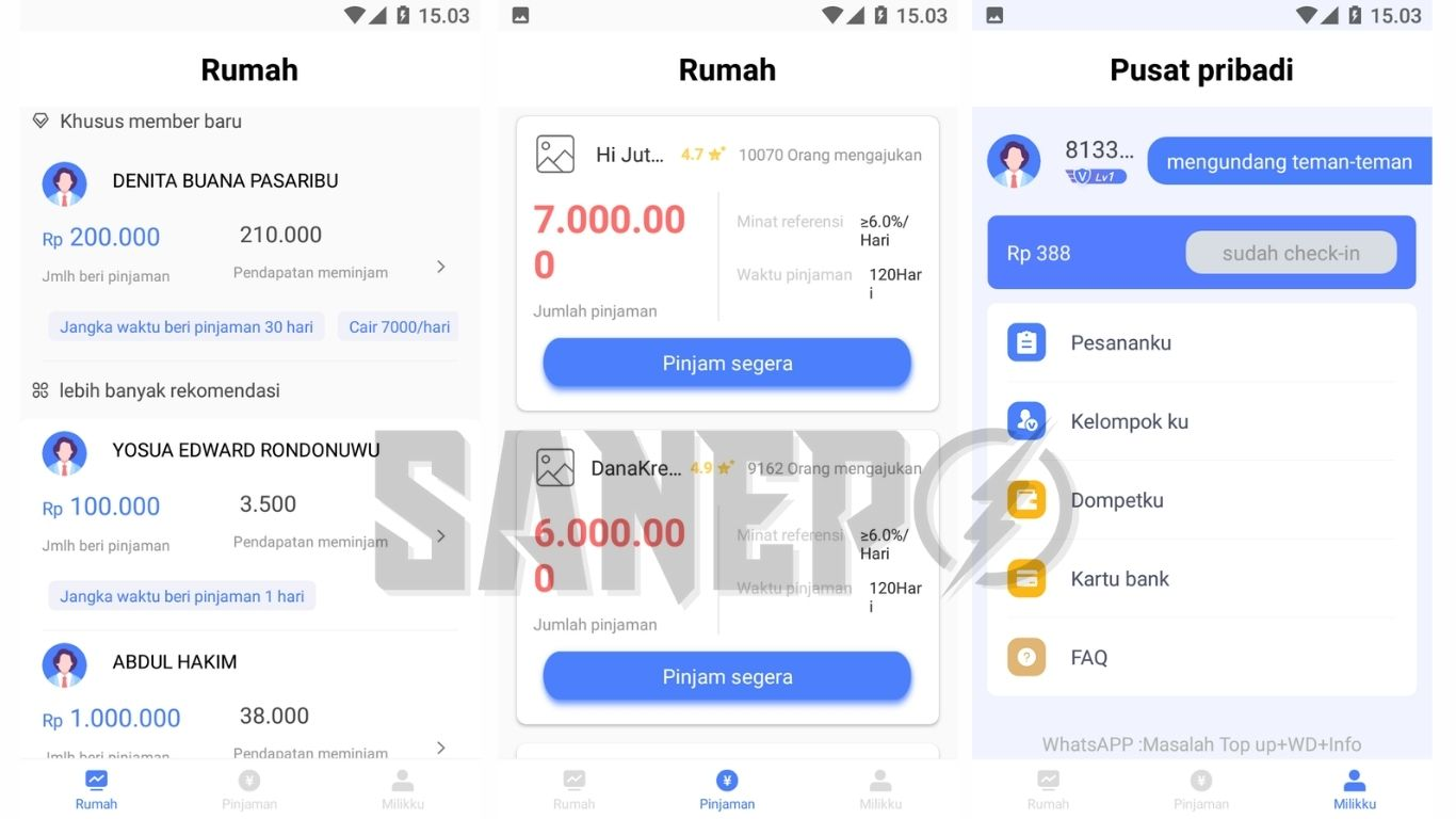 Cara Daftar dan Download Aplikasi Love Money APK