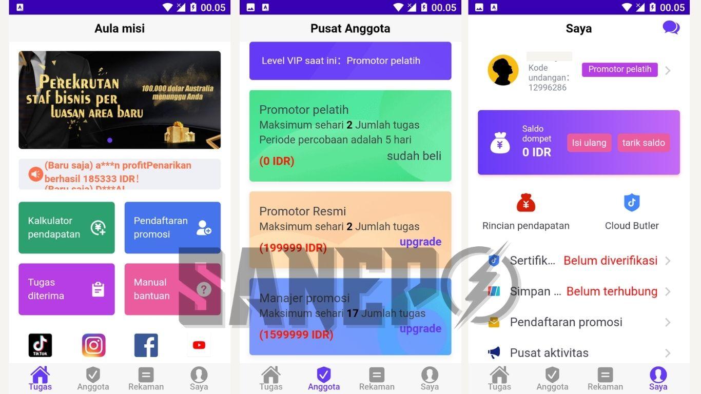 Cara Daftar dan Download Aplikasi Umoney APK