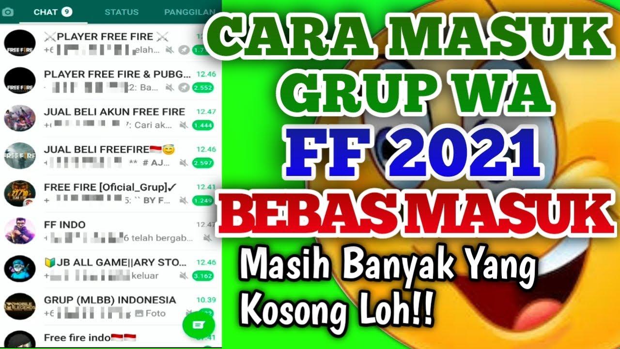 Kumpulan Link Grup WhatsApp FF
