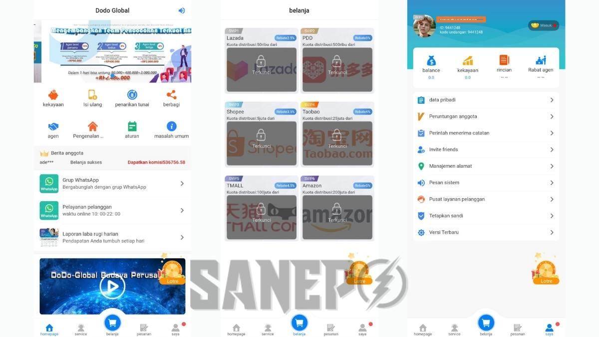 Cara Daftar dan Download Aplikasi Dodo Global Apk