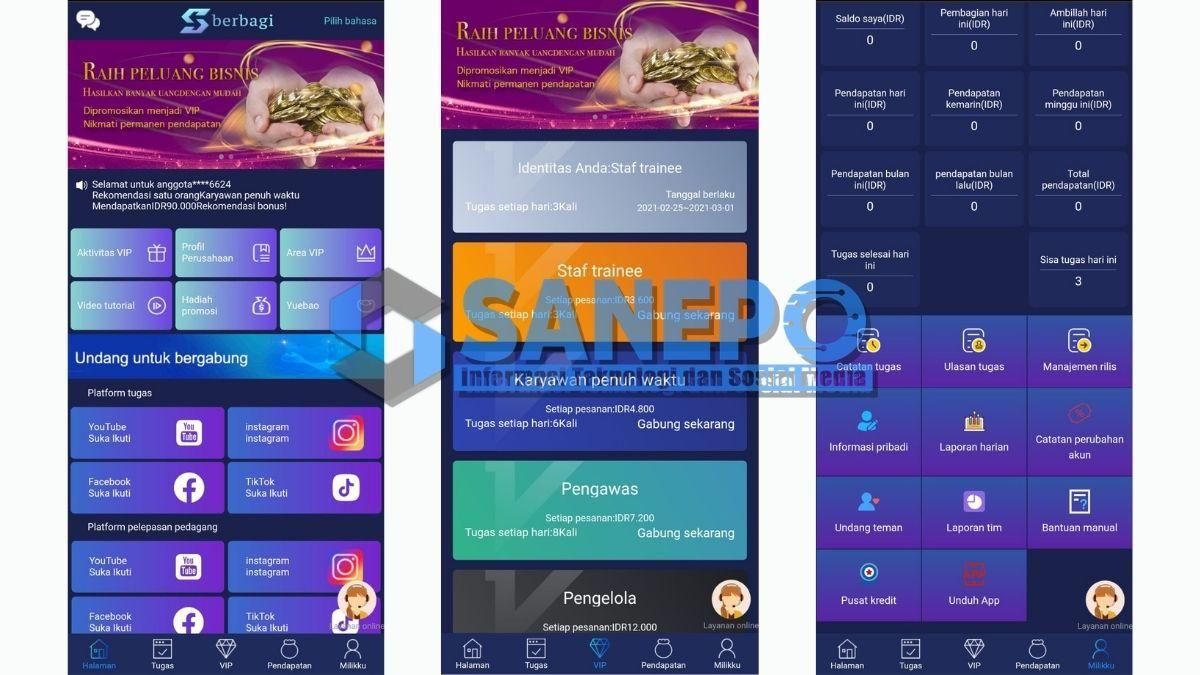 Cara Daftar dan Download Aplikasi Berbagi Apk