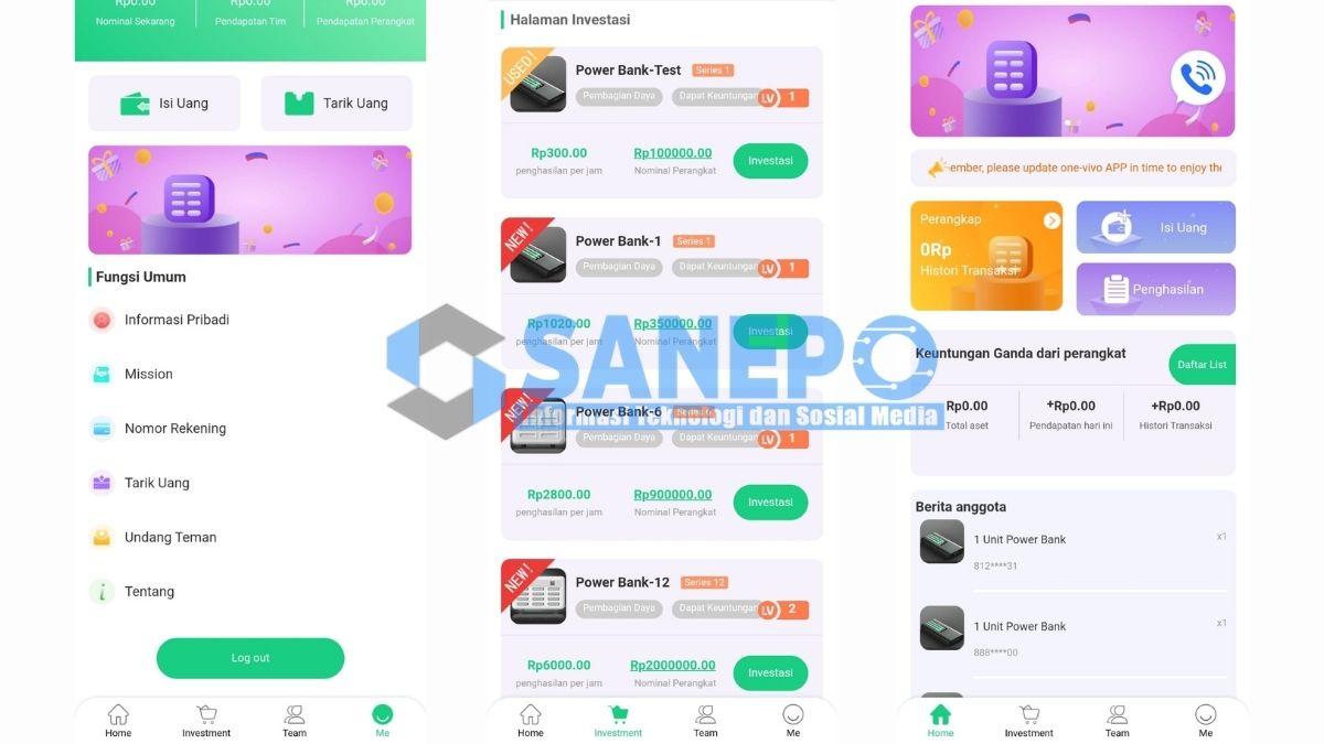 Cara Daftar dan Download Aplikasi One Vivo Apk
