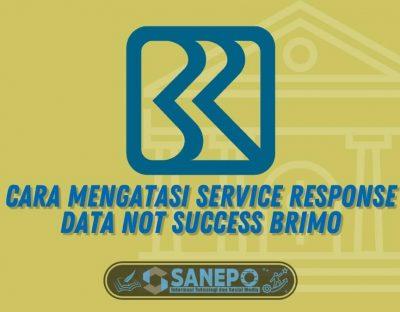Service Response Data not Success BRImo