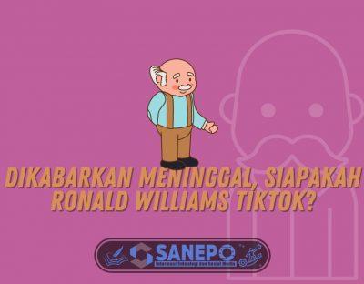 Dikabarkan Meninggal, Siapakah Ronald Williams TikTok?