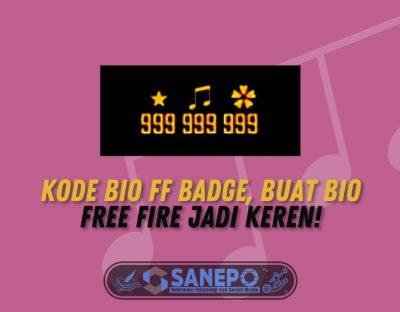 Kode Bio FF Badge, Buat Bio Free Fire Jadi Keren!