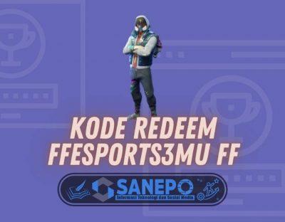 Kode Redeem FFESPORTS3MU FF