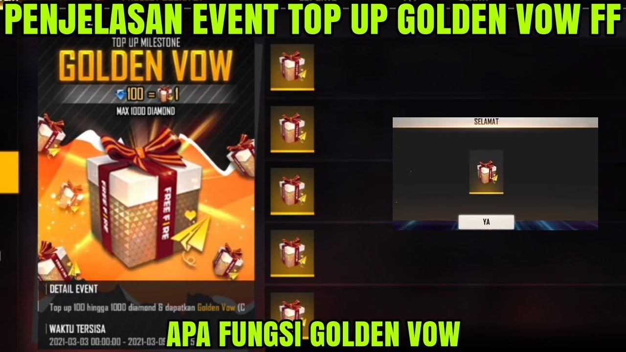 Kegunaan Golden Vow FF