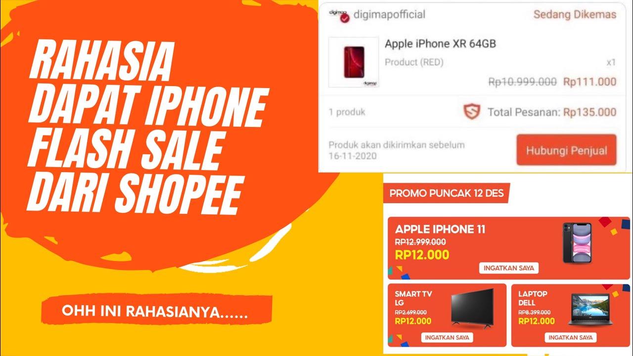 Ternyata Begini Cara Menang Flash Sale Shopee dengan Mudah 2021