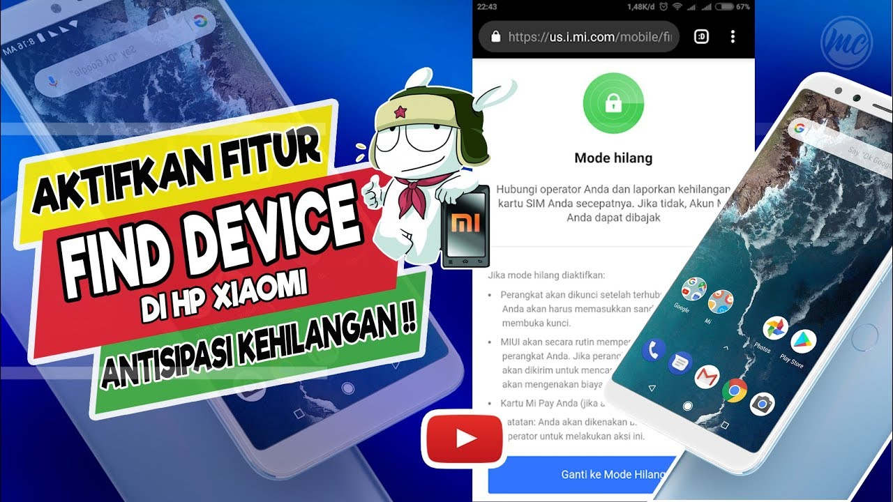 Cara Menggunakan Fitur Find Device Ponsel Xiaomi Hilang