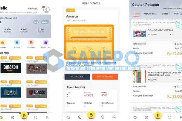 Cara Daftar dan Download Aplikasi Uang Katak Apk