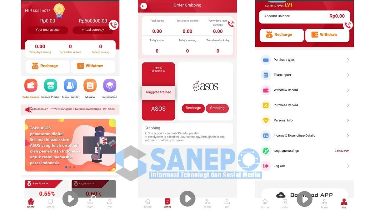 Cara Daftar dan Download Aplikasi Asos Apk