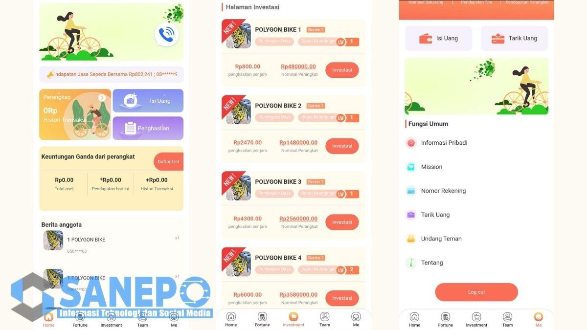 Cara Daftar dan Download Aplikasi Polygon Bike Apk