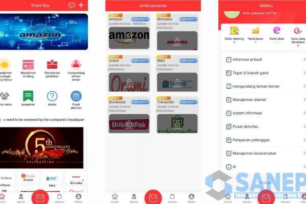 Cara Daftar dan Download Aplikasi Share Buy Apk