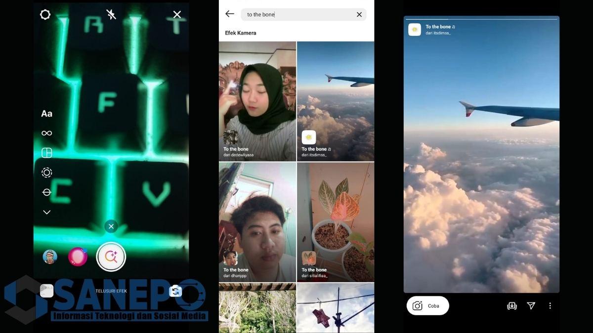 Cara Mendapatkan Filter Instagram To The Bone
