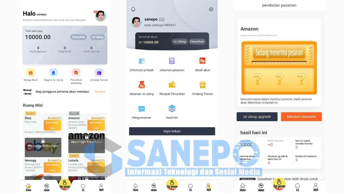 Cara Daftar dan Download Aplikasi Cashbee Penghasil Uang