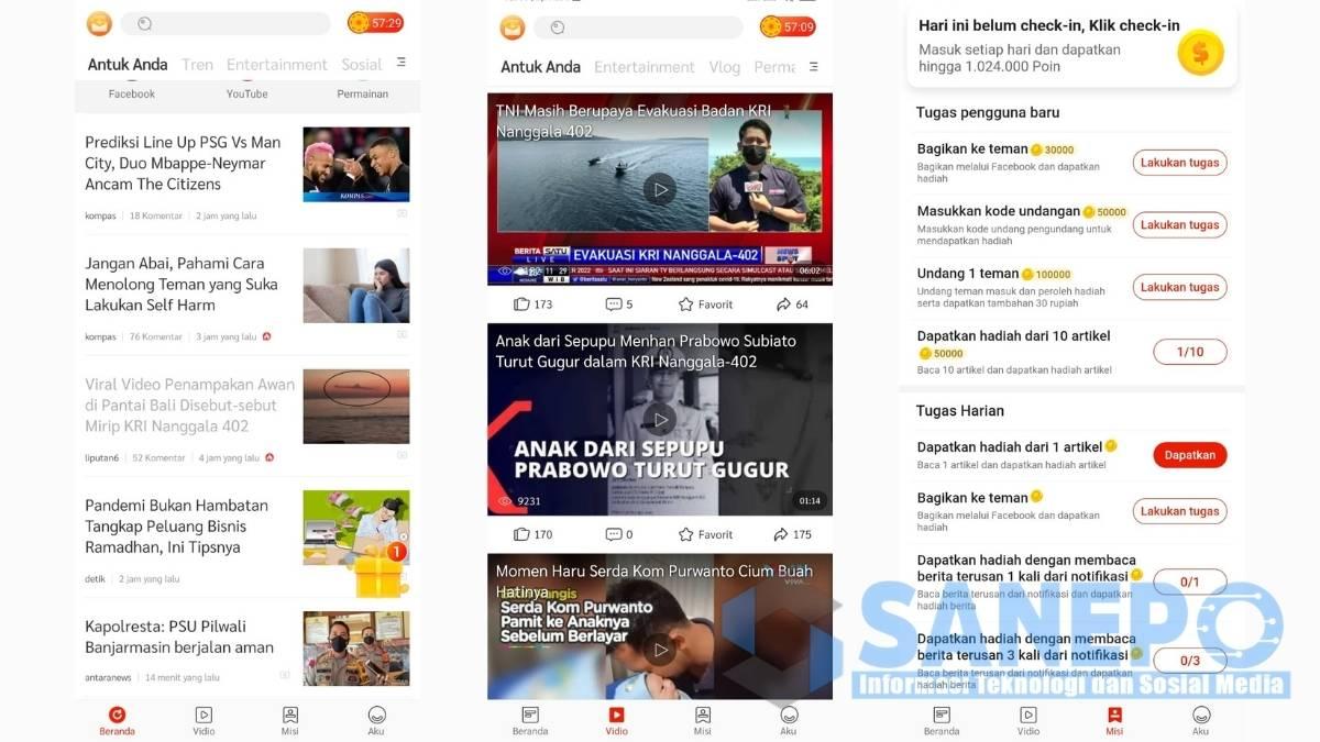 Cara Daftar dan Download Aplikasi Indo Today Apk