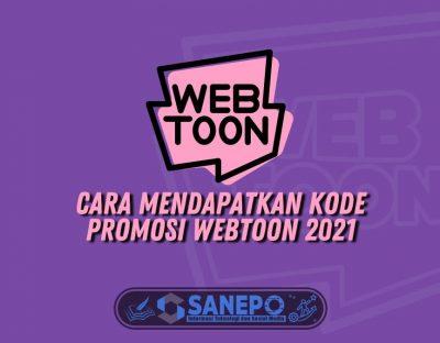 Cara Mendapatkan Kode Promosi Webtoon 2021