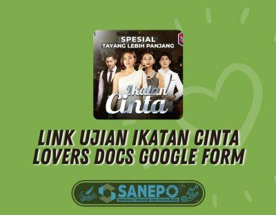 Link Ujian Ikatan Cinta Lovers Docs Google Form