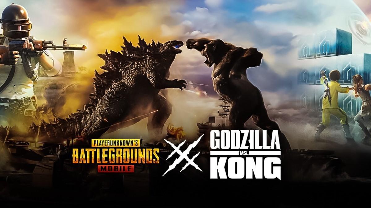 Kode Redeem PUBG Godzilla VS Kong Terbaru