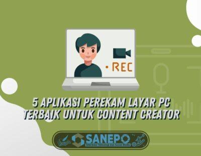 5 Aplikasi Perekam Layar PC Terbaik untuk Content Creator