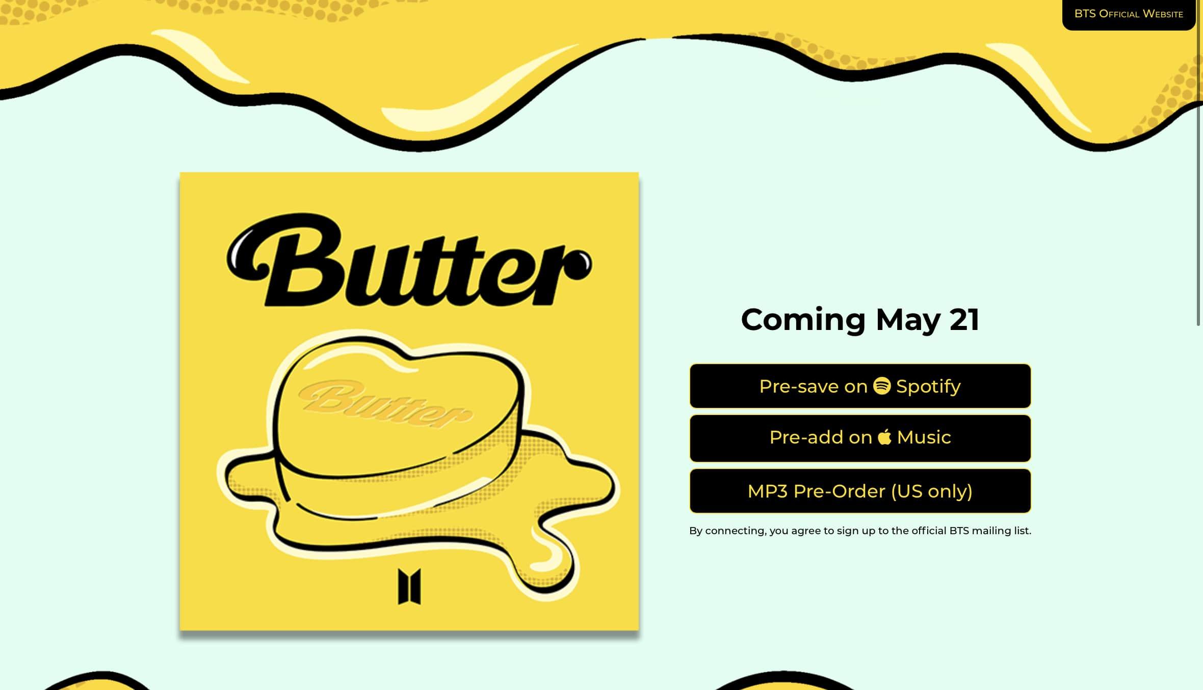 Cara Membuat BTS Butter Nama Sendiri