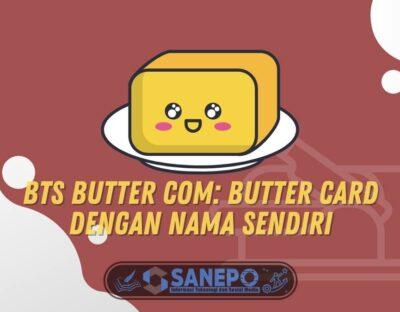 BTS Butter Com: Butter Card dengan Nama Sendiri