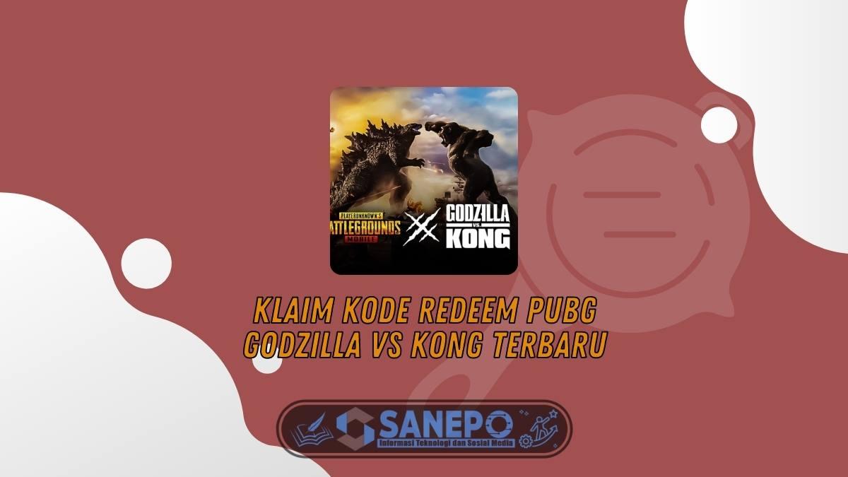 Klaim Kode Redeem PUBG Godzilla VS Kong Terbaru