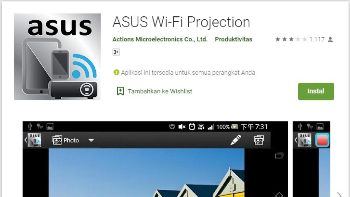 ini dia aplikasi proyektor hp android