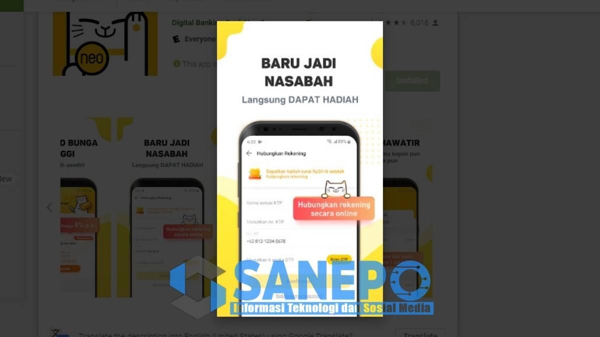 Aplikasi NEO Plus Apk Penghasil Uang