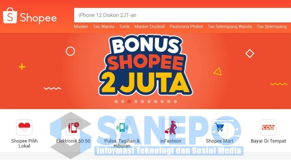Cara Mendapatkan Uang di Event Bonus Shopee 2 Juta